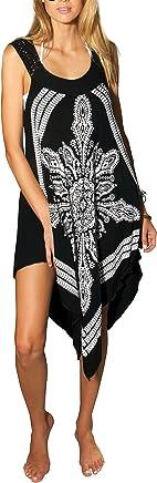 8c35c1c0dc841 INGEAR Crochet Casual Dress Embroidery Summer Beach Handkerchief Relaxed  Sundress