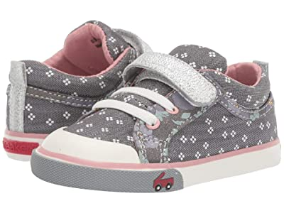 See Kai Run Kids Kristin (Toddler/Little Kid) (Gray Denim Mix) Girls Shoes