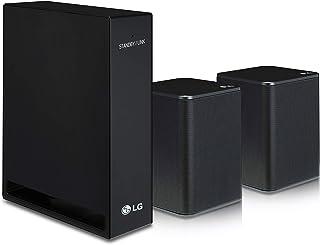 LG 2.0 Channel Sound Bar Wireless Rear Speaker Kit (SPK8-S),Black