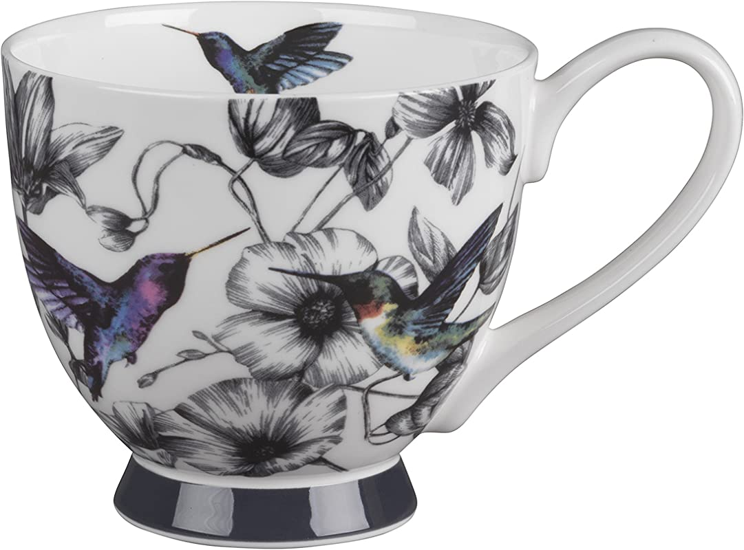 Portobello CM04291 Footed Marcianna Fine Bone China Mug By Portobello