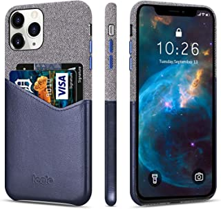 Lopie [Sea Island Cotton Series] Slim Card Case Compatible for iPhone 11 Pro 2019 (5.8