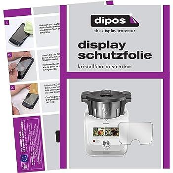 BROTECT Protector Pantalla Cristal Compatible con SilverCrest Monsieur Cuisine Connect Protector Pantalla Vidrio Dureza 9H AirGlass: Amazon.es: Electrónica