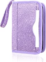 Nintendo New 2DS XL/New 3DS XL Case, ACdream Premium PU Leather Protective Case Bag for New Nintendo 2DS XL/New 3DS XL with Portable, (Purple Star of Paris)