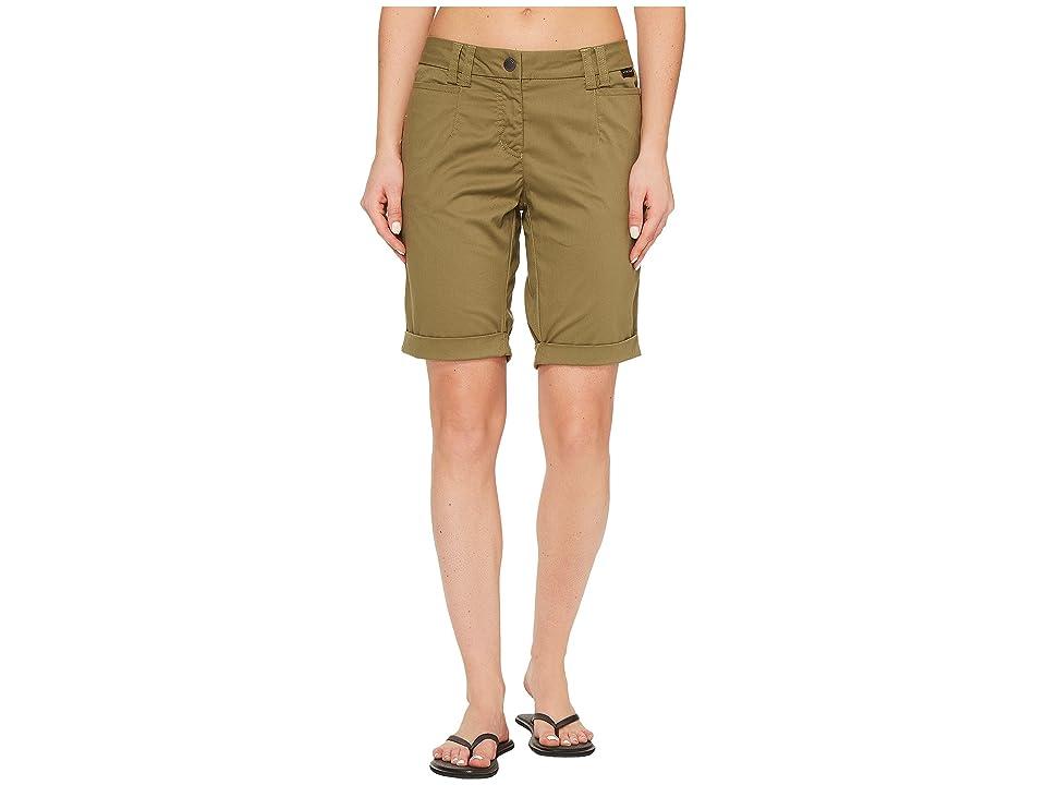 Jack Wolfskin Liberty Shorts (Burnt Olive) Women