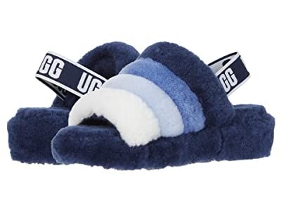 UGG Fluff Yeah Slide (Navy Multi) Women