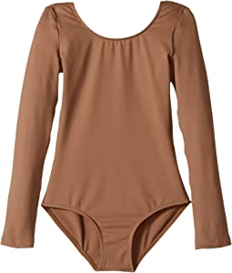 Bloch Kids Microlux Long Sleeve Leotard (Toddler/Little Kids/Big Kids)