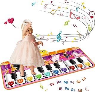 Kids Musical Piano Mats,47.24x15.75 inch Soft Baby Early Edu