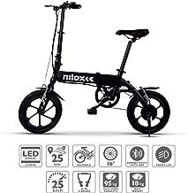 "Nilox ebike X2 Plus Plegable Ruedas 16""; Adulto, Unisex"