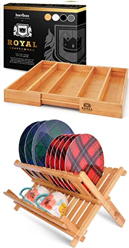 lowest Expandable Utensil Drawer outlet sale Organizer and online Dish Drying Rack online sale