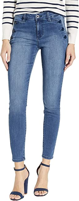 Abby Ankle Skinny Sailor Jeans in Eco-Friendly Denim in Medway