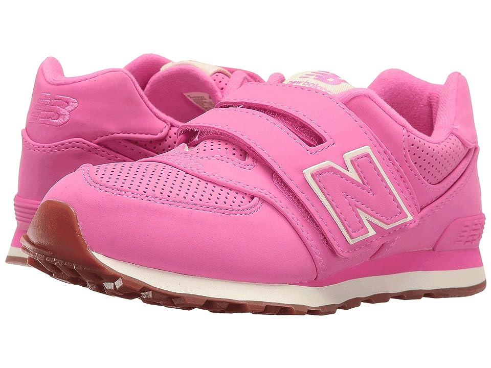 New Balance Kids 574 Breathe HL (Little Kid/Big Kid) (Pink/Pink) Girls Shoes