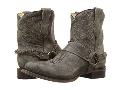 Roper Selah (Vintage Leather/Harness & Chain) Cowboy Boots
