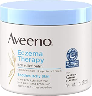 Aveeno Eczema Therapy Itch Relief Balm with Colloidal Oatmeal & Ceramide for Dry..