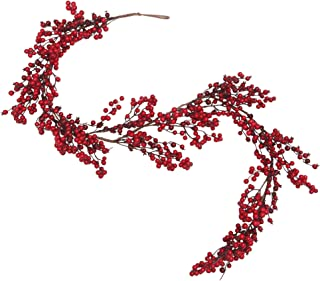 Best red berry garland christmas Reviews