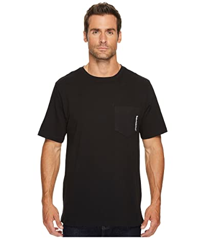 Timberland PRO Base Plate Blended Short Sleeve T-Shirt (Jet Black) Men