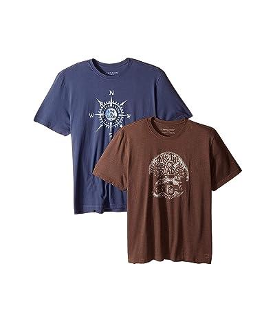 Life is Good 2-Pack Back Roads T-Shirt Bundle (Multi) Men