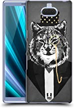 Head Case Designs Lynx Super Posh Hard Back Case Compatible for Sony Xperia XA3 Ultra / 10 Plus