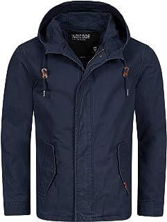 Indicode Heren Lough vest met capuchon, 100% katoen   Jack Merk-Jack Outdoor katoenen jas Met Capuchon Men's Jacket Tussen...