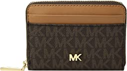 937ca152fa08 MICHAEL Michael Kors. Large Slim Card Case. $78.00. 5Rated 5 stars.  Brown/Acorn