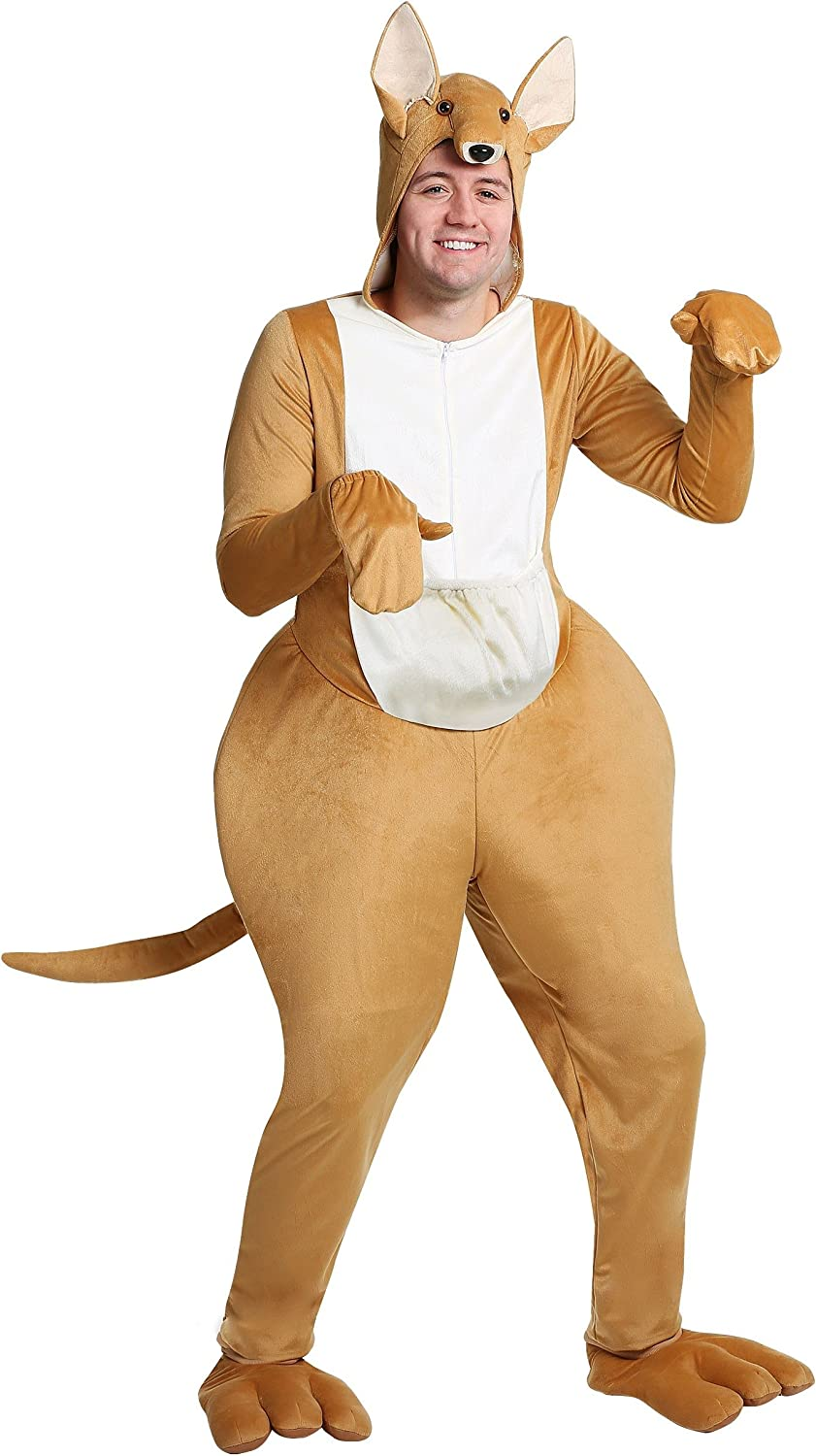 Fun Costumes Kangaroo Adult Fancy dress costume Medium
