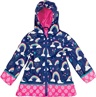 Stephen Joseph Girls' Little Print Raincoat