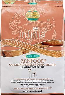 Infinia ZenFood | Salmon and Sweet Potato Grain-Free Adult Dog Food | Nutritionally Complete - 30 Pound (30 lb.) Bag