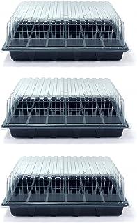 Britten & James Value Pack de 3 Propagadores estándar Contiene Tres bandejas de Semillas