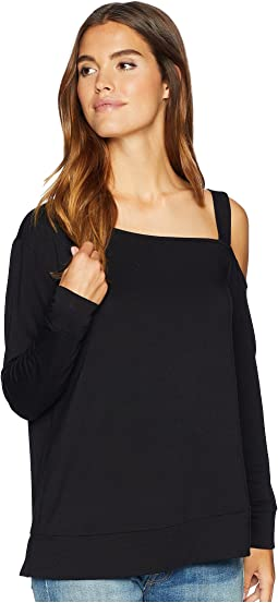 Pick Up The Phone Soft One Shoulder Top
