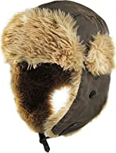 Unisex Winter Trooper Hat Collection for Men and Women Lumberjack Ushanka Ear Flap Chin Strap and Windproof Mask
