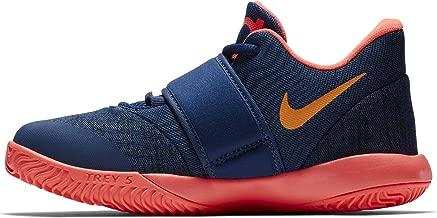 Nike Boys Preschool KD Trey 5 VI Basketball Shoes, Blue Void/Orange Peel-Flash Crimson, 11C