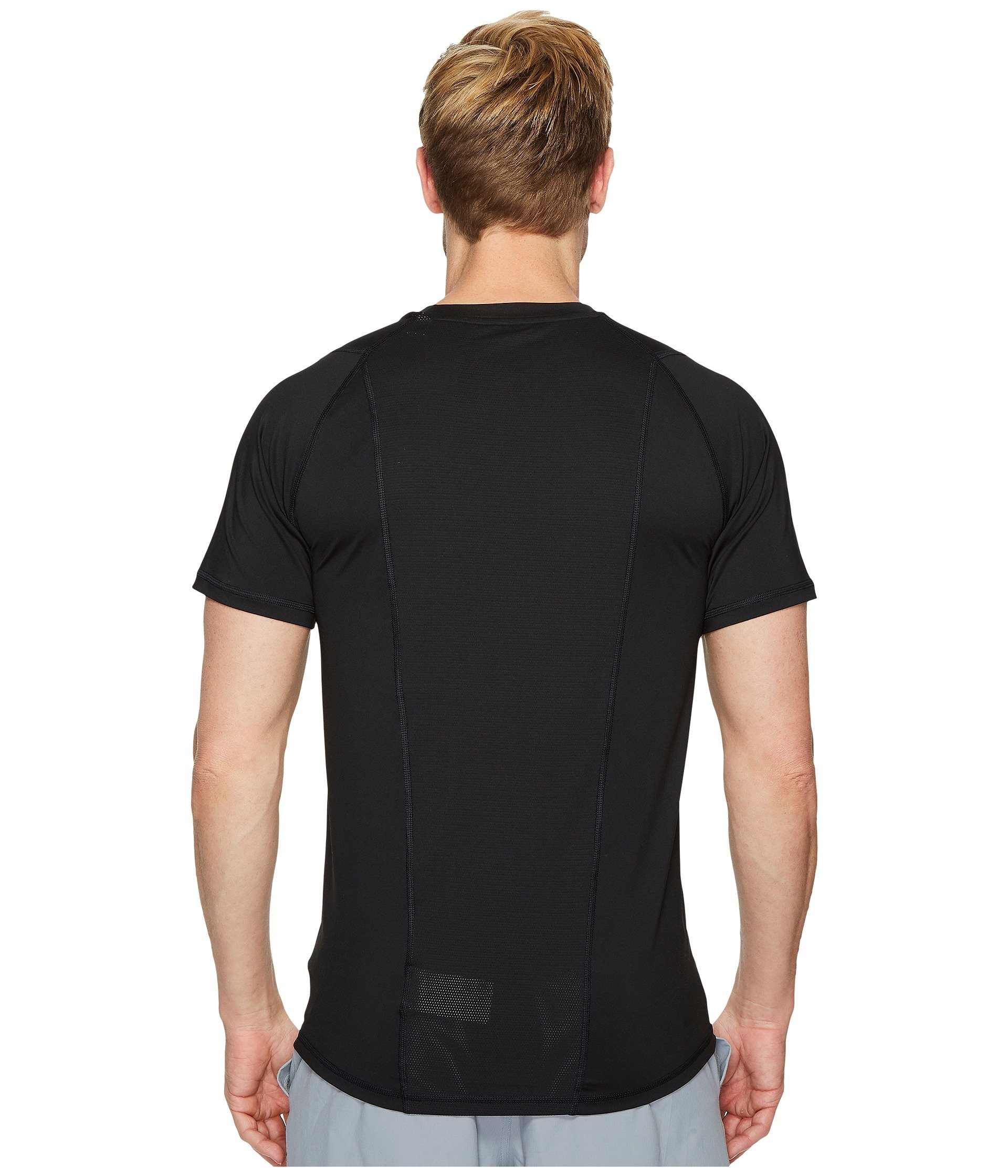 Alphaskin Sleeve Adidas Sport Black Fitted Tee Short PFwAvnq