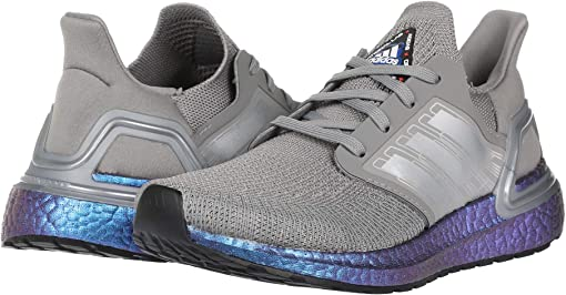 Dove Grey/Boost Blue Metallic