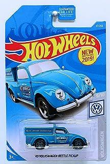 Hot Wheels 2019 Basic Mainline Volkswagen - '49 Volkswagen Beetle Pickup