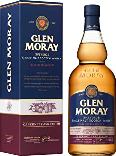 Glen Moray Single Malt Cabernet finish Whisky 1 x 0.7 l