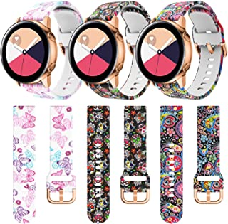 Jiali Taisong Bands Compatible with Active 2 Watch Band 44mm 40mm Galaxy Watch Active 2 Band 42mm...