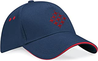 Red Arrows™ Embroidered Diamond 9 Contrast Baseball Cap