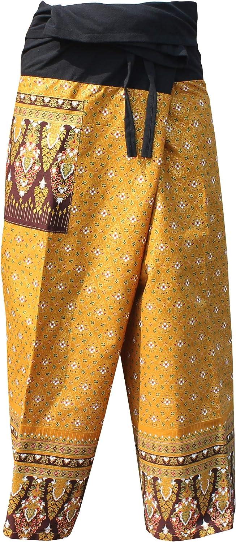 RaanPahMuang Ranking TOP16 Brand Batik Thailand Pat Fishermans Pants Beautiful All stores are sold