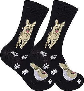 German Shepherd Socks - Goes With Your German Shepherd Slippers! Men Dog Socks - German Shepherd Clothing - German Shepard Gifts - Dog Socks For Men - German Shepherd Clothes - Dog Lover Socks