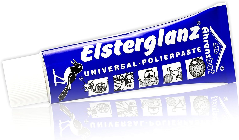 Elsterglanz Universal Reiniger Polierpaste Für Kfz Motorrad Metall Tube 40ml Küche Haushalt