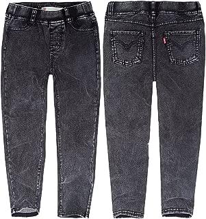 Pandapang Big Girls Legging Pencil Denim Fleece Jeans Stretch Pants