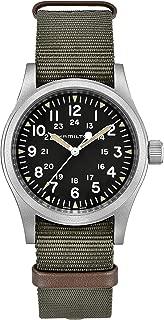 Hamilton Unisex Khaki Field Mechanical - H69429931 Black/Green One Size