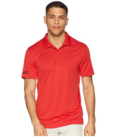 adidas Golf Performance Polo (Collegiate Red) Men