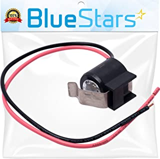 Ultra Durable W10225581 Refrigerator Bimetal Defrost Thermostat Replacement part by Blue Stars - Exact Fit for Whirlpool KitchenAid Kenmore Refrigerators - Replaces WPW10225581 PS11750673 2149849