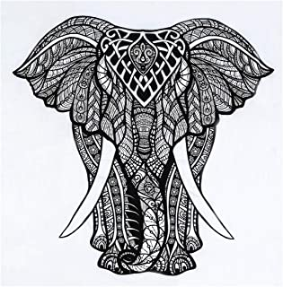 Nidhi Good Luck Elephant Tiry Gypsy لتزيين الجدران، تعليق على الحائط، بطانية للنزهات، مفرش الشاطئ، غطاء سرير، أريكة ستائر،...
