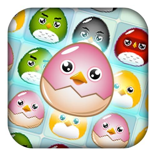 Pájaros de bebé: Egg Farm épica Puzzle Juego