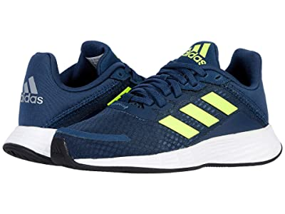 adidas Kids Duramo SL (Little Kid/Big Kid) (Crew Navy/Solar Yellow/Halo Silver) Kid
