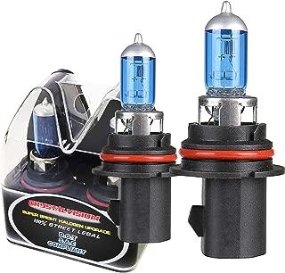 CK FORMULA (Box of 2) 9004 HB1 Halogen Headlight Bulbs (Low and High Beam) 12V 100W/80W 5000K Super White