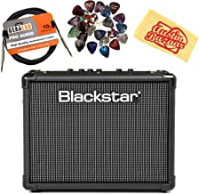 Blackstar ID:Core Stereo 20 V2 Guitar Amplifier Bundle with Instrument Cable, Picks, and Austin Bazaar Polishing Cloth