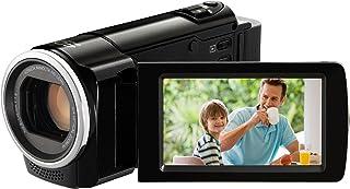 JVC GZ HM30BEU HD Camcorder (SD Kartenslot, 70 fach digital Zoom, 6,9 cm (2,7 Zoll) Display, HDMI Kabelanschluss)