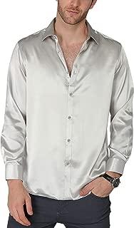 Best satin grey shirt Reviews